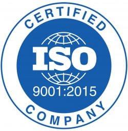 תקן ISO 9001:2015 של מפעלנו